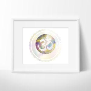Om Symbol Printable Art