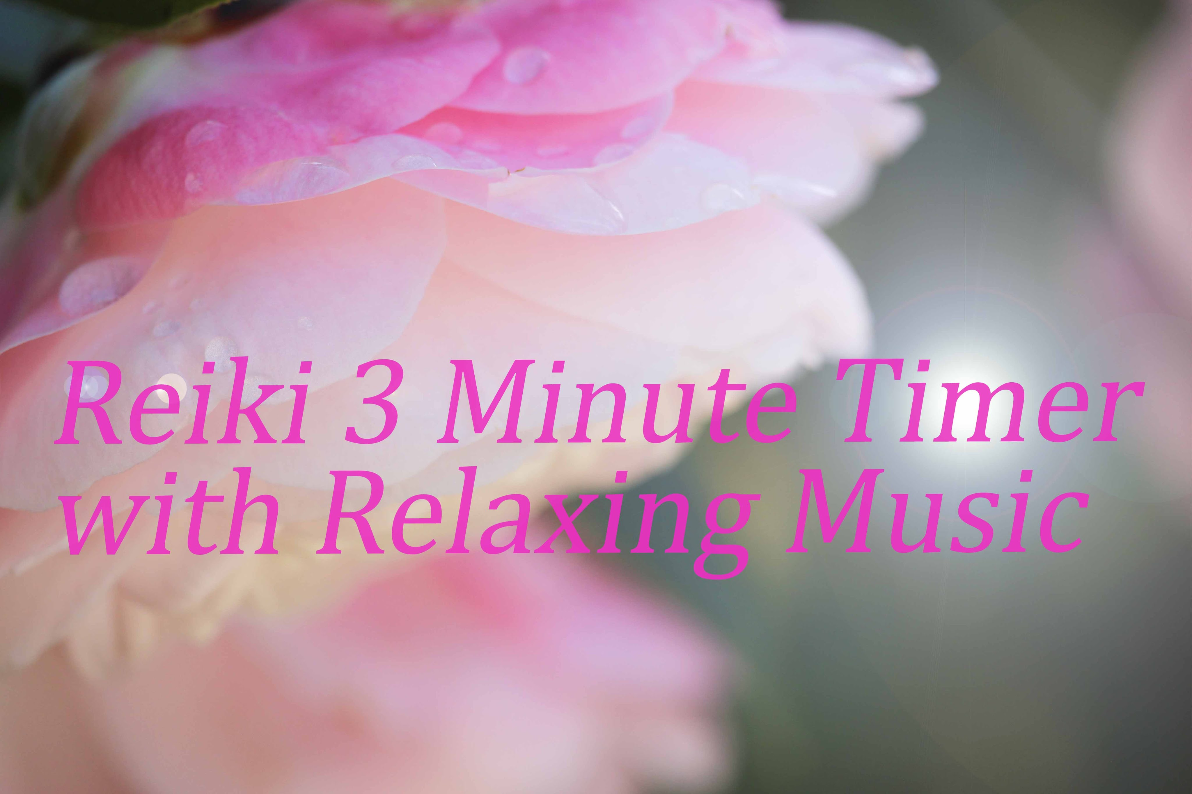 Reiki Music With  Minute Tibetan Bell Timer  Minutes Dewdrop